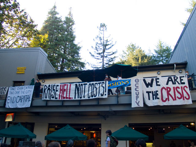 University of California Santa Cruz Occupation