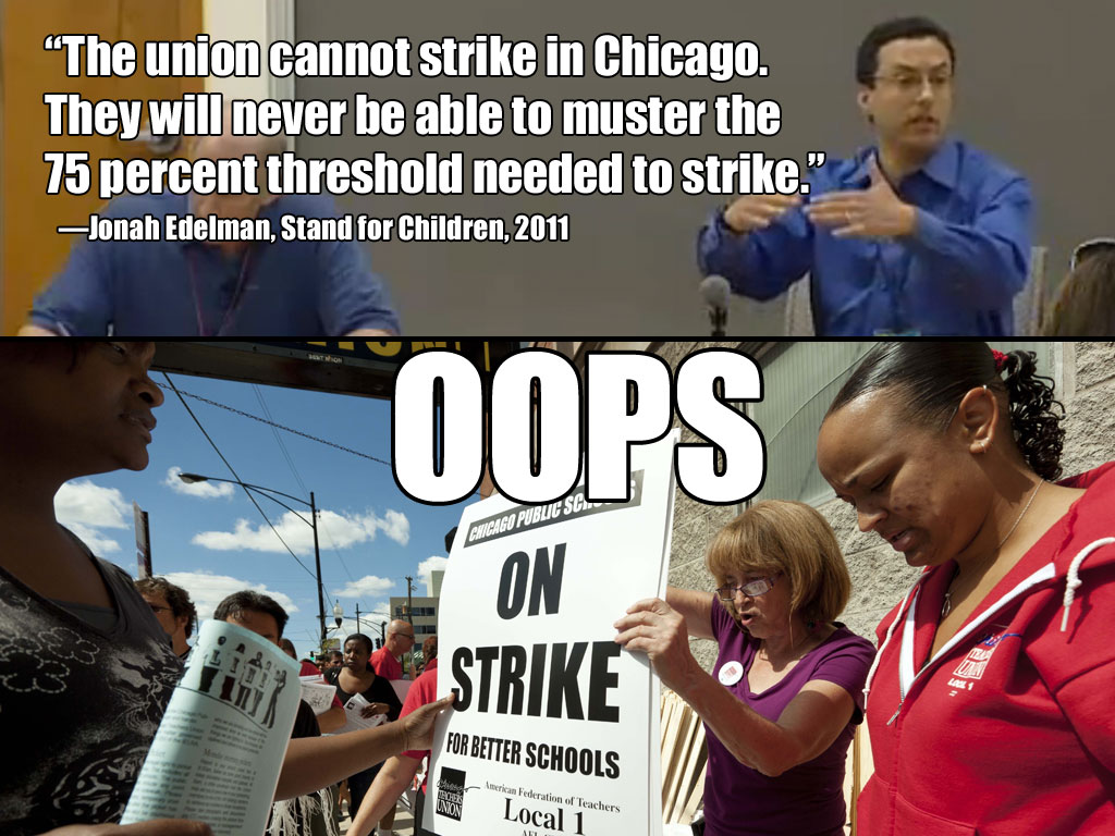 Chicago Teachers on Strike!