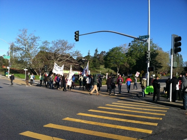 UC Santa Cruz strike arrests